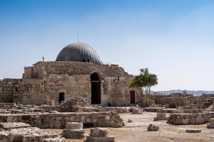 Palace in Citadel Amman