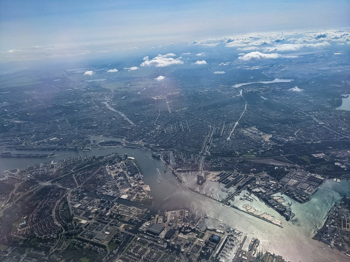 Amsterdam from above