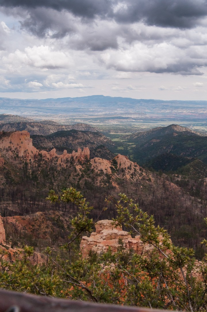 Valley view in Bryce Canyon National Park