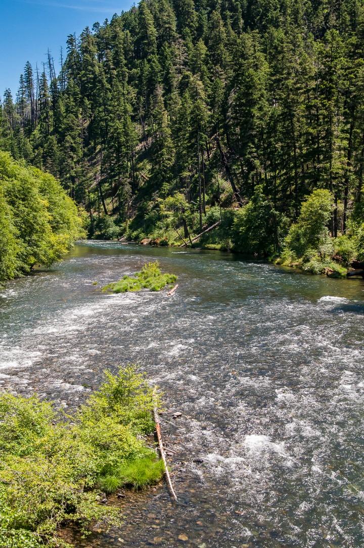 River or stream in Oregon