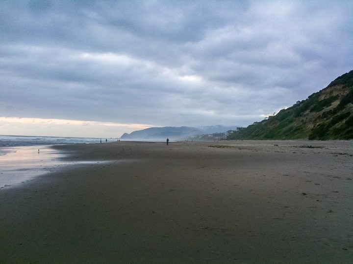 Beach at Oregon