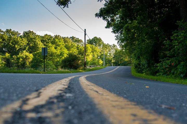 View of road in Allentown
