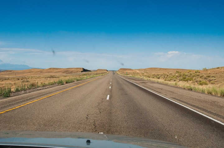 Utah scenery on the way to Moab