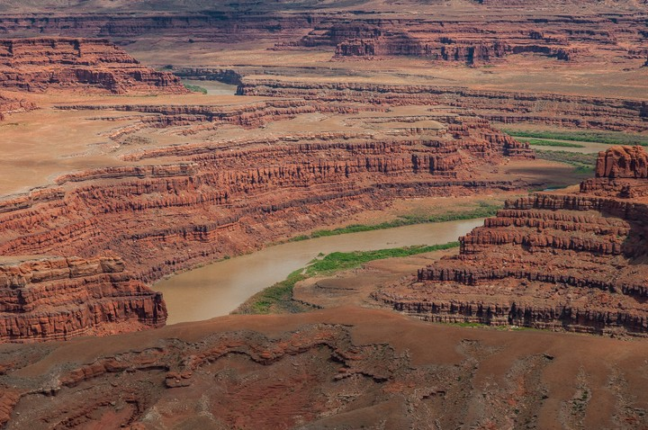 View of the Colorado river in Dead Horse Point State Park
