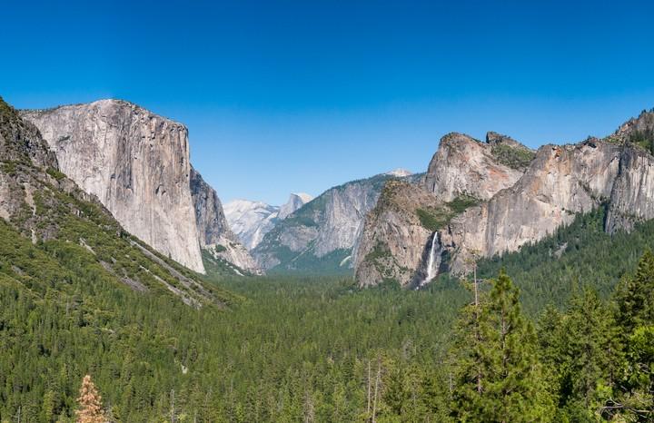 View of Yosemite National Park