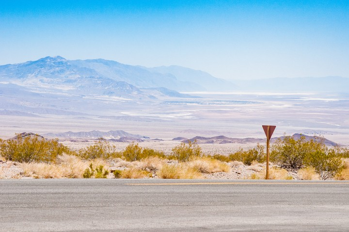 View of Death Valley National Park