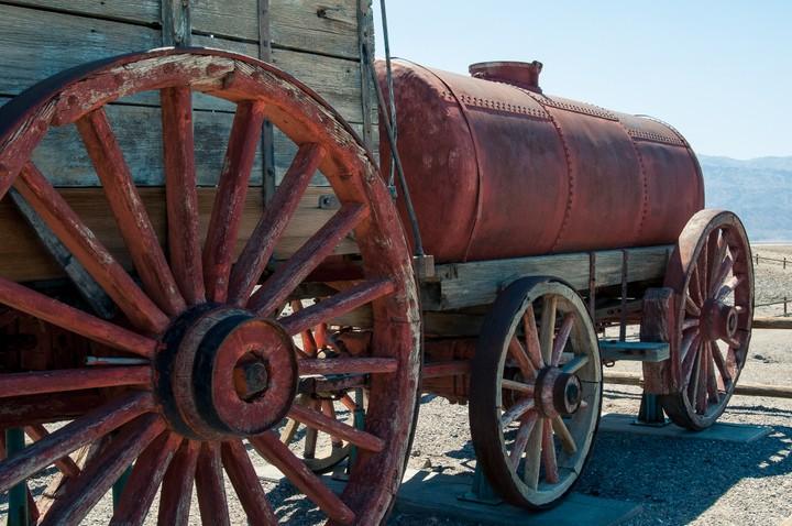 Twenty Mule Teams at Death Valley National Park