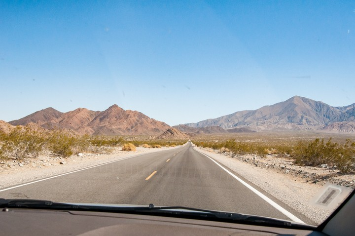 Road in Death Valley National Park
