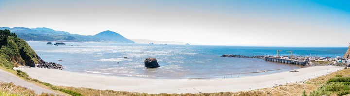 Pacific coast beach