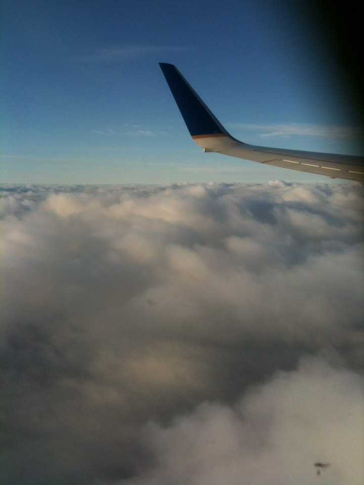 United flight from SFO to BOS