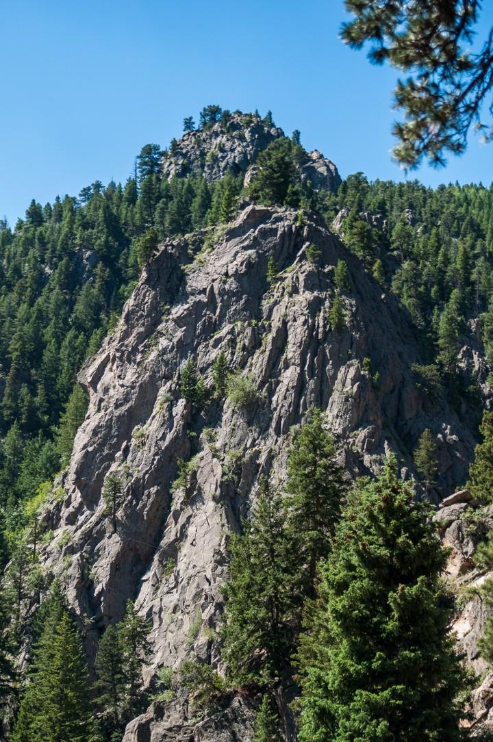 Rocks near Yosemite National Park