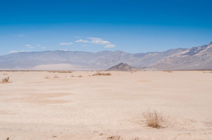Bottom of Death Valley Nat. Park