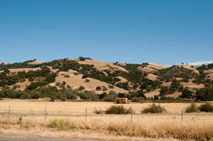 View of California landscape