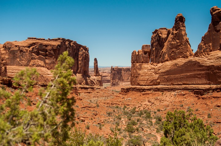 View of Arches Nat. Park