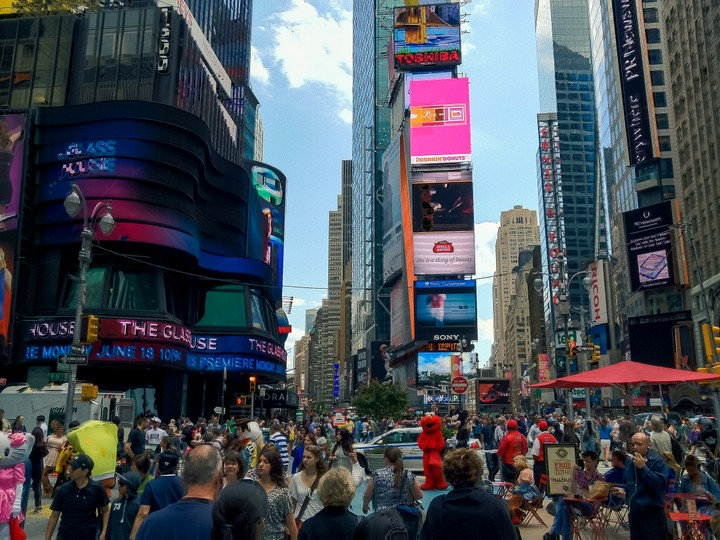 View of Times Square