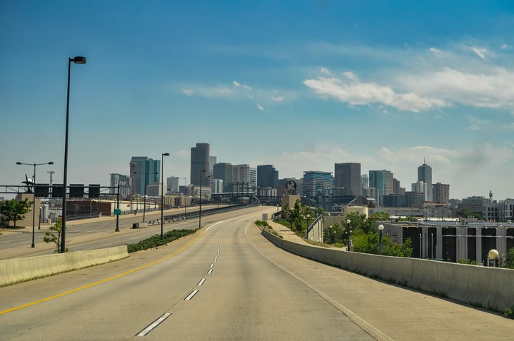 Denver without traffic