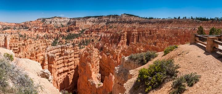 Panorama of Bryce Canyon Nat. Park