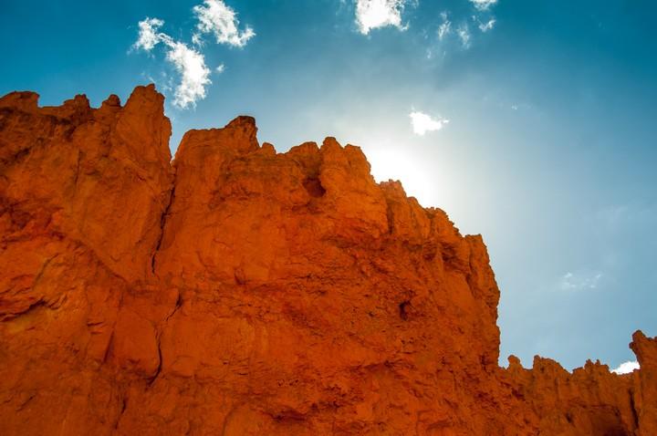 Rock formation at Bryce Canyon Nat. Park