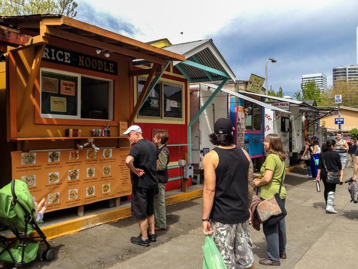 Rice Noodle - Portland Foodtruck