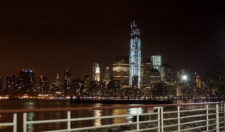 View from Manhattan from New Jersey