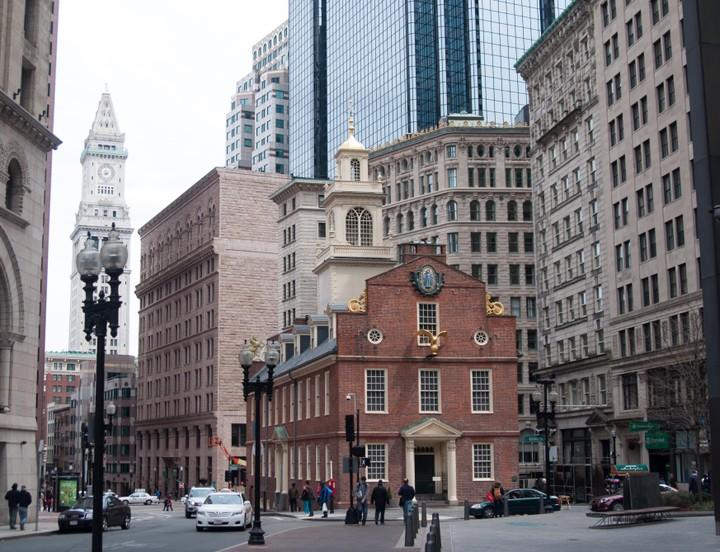 Church in downtown Boston