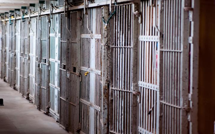 Jail in Alcatraz