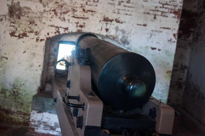 Cannon on Alcatraz
