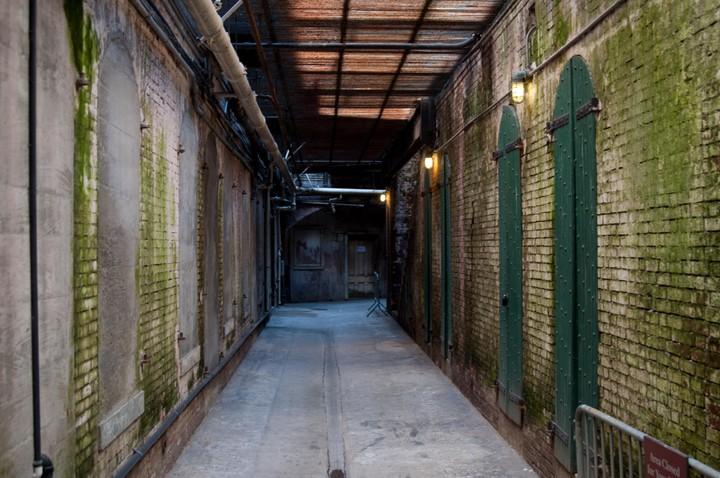 Scene on Alcatraz